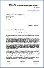 hier unser persnliches anschreiben pdf an die neue ministerin im bundesministerium fr arbeit und soziales frau dr von der leyen - Persnliches Anschreiben
